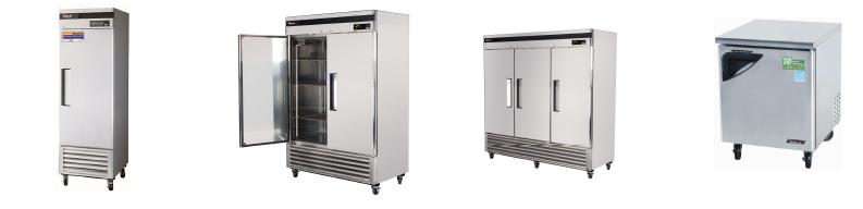 Refrigeradores en acero inoxidable