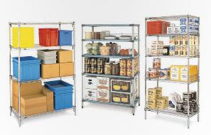 estanterias para alimentos