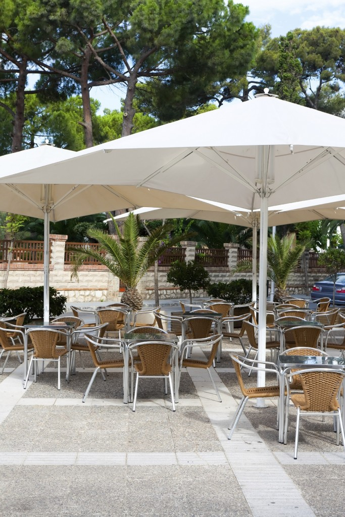 modern restaurant outdoor