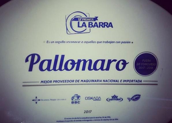 premios la barra 2017 pallomaro plato oficial
