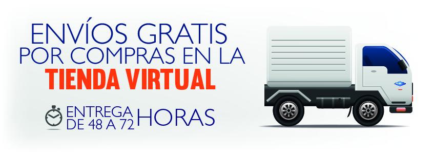 Envio gratis en tienda virtual pallomaro